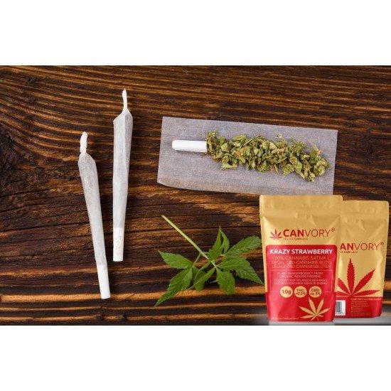 Krazy Strawberry - 3% CBD Cannabidiol Cannabis aroma incense sticks
